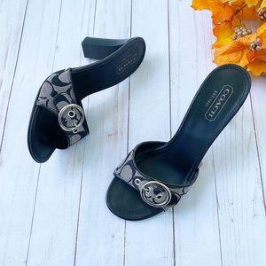 Coach Diedre Heel Sandals Size 8.5